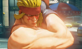Street Fighter 5 : Alex et des modes de jeu pour la MAJ de mars 2016