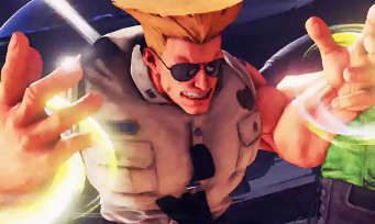 Street Fighter 5 : gameplay trailer du nouveau Guile