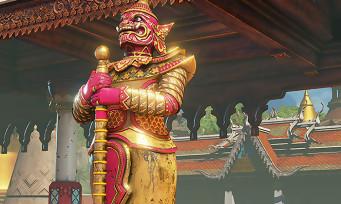 """Street Fighter 5 : le Stage """"Thaïlande"""" de M. Bison en images"""