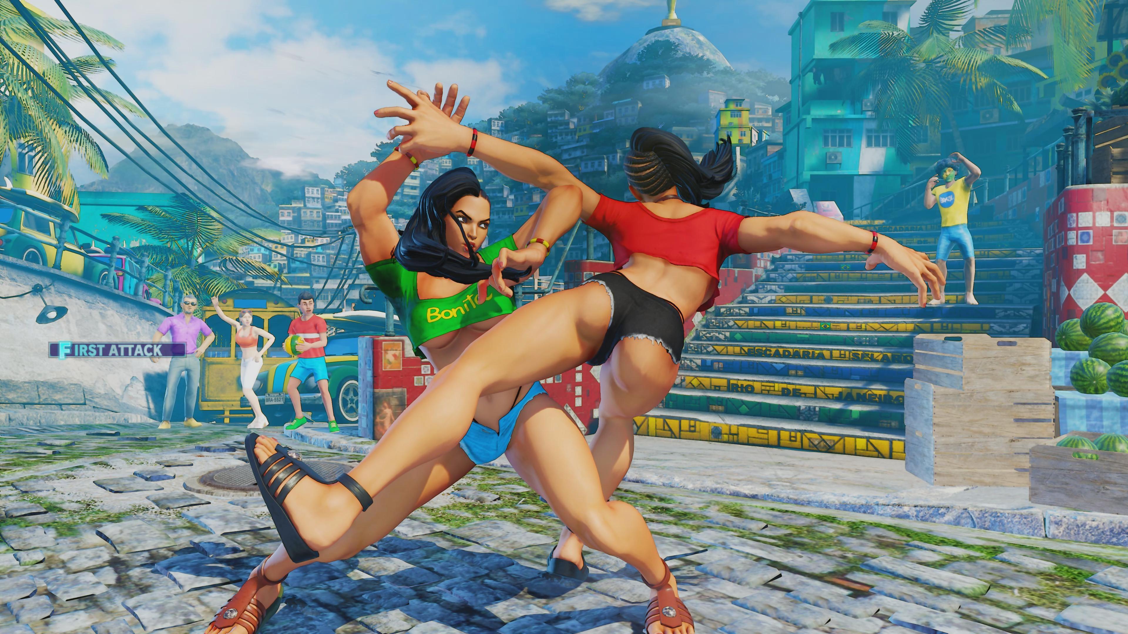 Street Fighter 5 : des images méga hot et sexy de Laura Matsuda