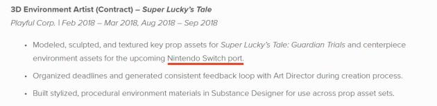 Super Lucky s Tale