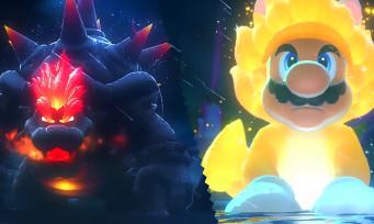 Super Mario 3D World + Bowser's Fury : Giga Bowser vs Giga Mario Chat
