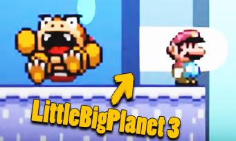Super Mario Maker 2 : le jeu recréé dans LittleBigPlanet 3, c'est fou