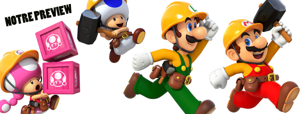 Super Mario Maker 2 : une suite qui change beaucoup de choses ?