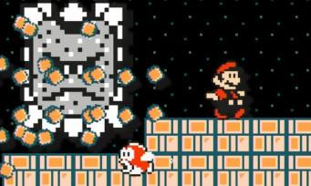 Super Mario Maker : un niveau de fou qui fait pleurer un joueur jap