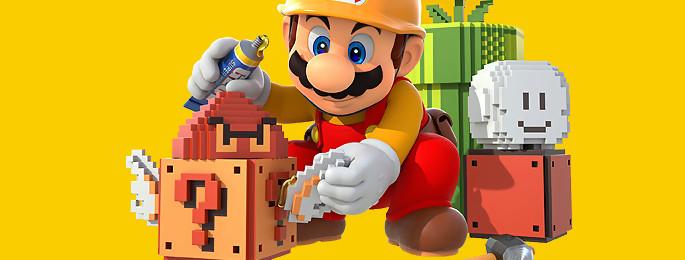 Test Super Mario Maker sur Wii U