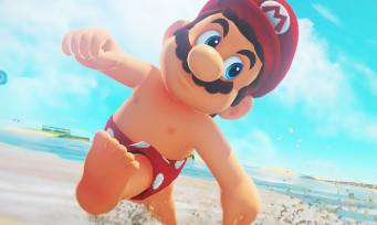 Super Mario Odyssey: une vidéo de gameplay au Royaume de la Mer