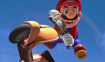 Super Mario Odyssey : une vidéo TV vs. portable sur Switch