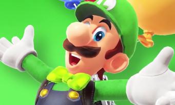 Super Mario Odyssey : trailer de gameplay du DLC avec Luigi