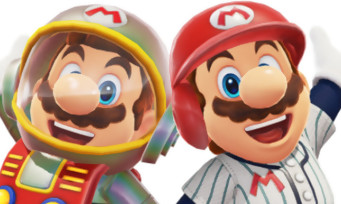 Super Mario Odyssey : les images des costumes Baseball et Satellaview