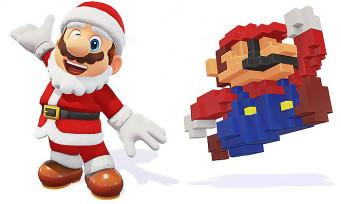 Super Mario Odyssey : une tenue de Noël et une casquette 8-bit à débloquer