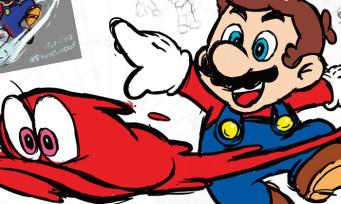 Super Mario Odyssey : tout sur le superbe artbook du jeu, un bien bel objet