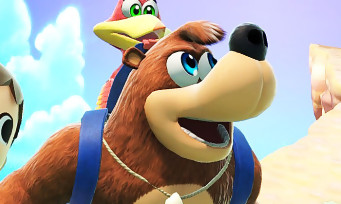 Super Smash Bros. Ultimate : des screenshots acérés de Banjo & Kazooie