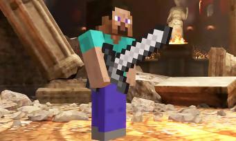 Super Smash Bros. Ultimate : Steve et Alex (Minecraft) arrivent