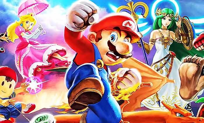 Super Smash Bros Ultimate 70 Personnages Le Jeu S