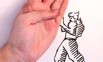 Street Fighter : la vidéo Maker vs Marker en stop-motion