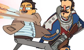 Super Time Force : le jeu arrive sur PS4 avec Shuhei Yoshida