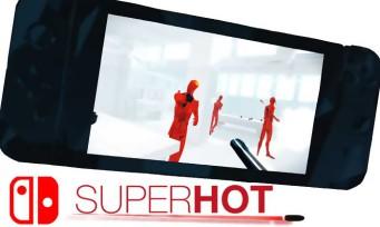 Superhot : un trailer qui éclabousse pour la version Switch