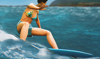 Surf World Series : trailer de gameplay sur PS4 et Xbox One