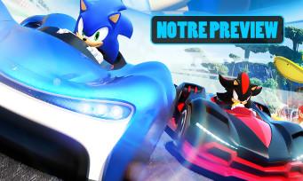 Team Sonic Racing : On y a joué, un sérieux concurrent pour Mario Kart ?