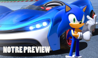 Team Sonic Racing : on y a rejoué, peut-il concurrencer Mario Kart ?
