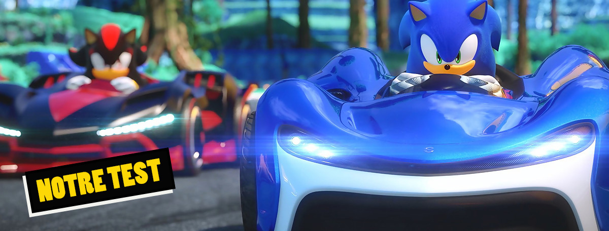 Test Team Sonic Racing : un 3ème épisode qui tient toujours la route ?