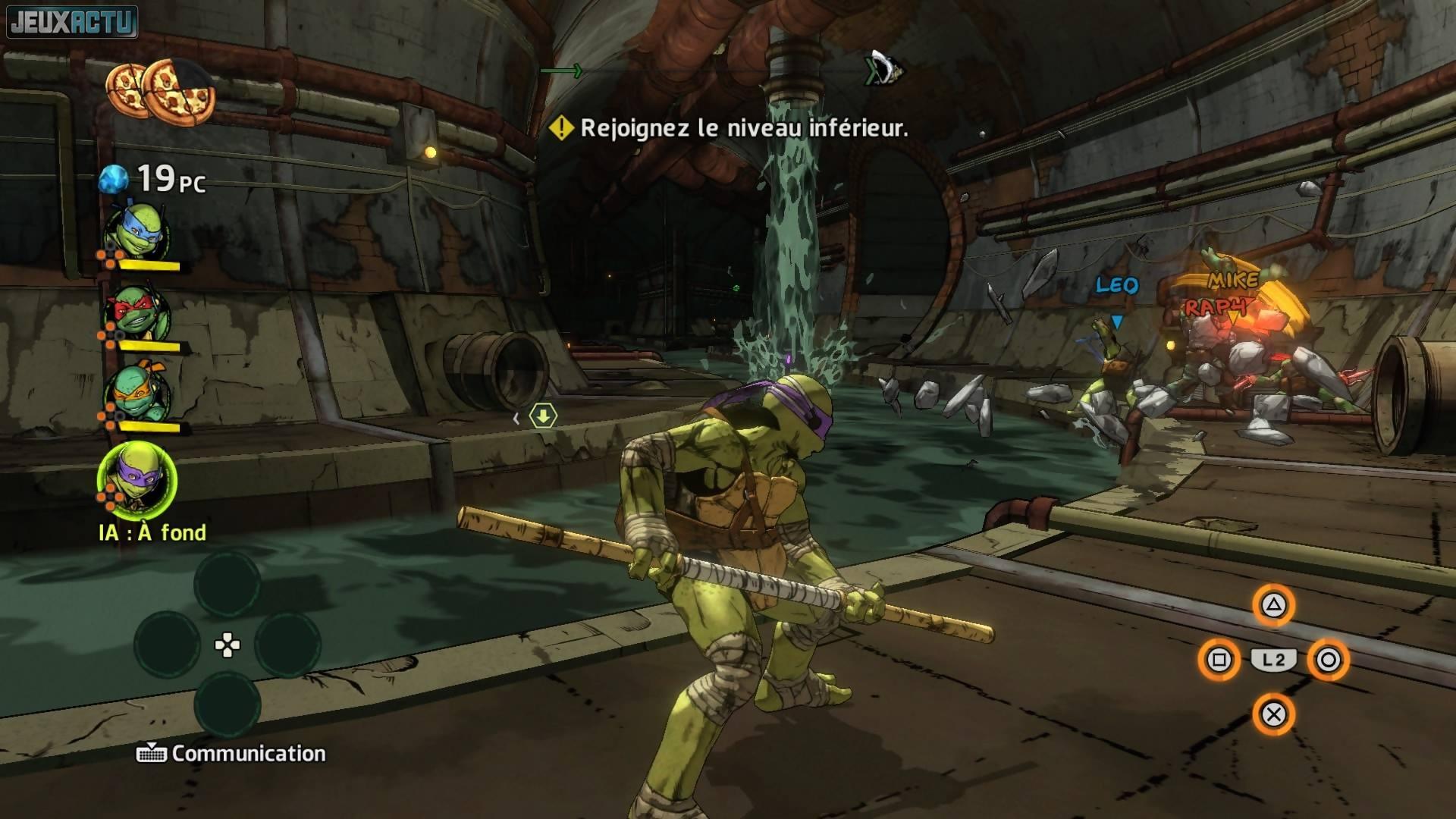 Test tortues ninja des mutants manhattan sur ps4 et xbox - Jeux de tortues ninja gratuit ...