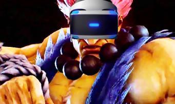 Tekken 7 : voici à quoi ressemblera le mode VR, et ça fait pas rêver...