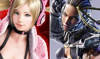 Tekken 7 : une vidéo avec Lucky Chloe et Master Raven sur PS4