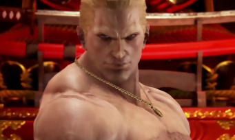 Tekken 7 : un trailer de gameplay avec Geese Howard de Fatal Fury