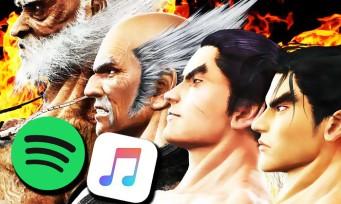 Tekken : l'OST des 7 jeux dispo en streaming !