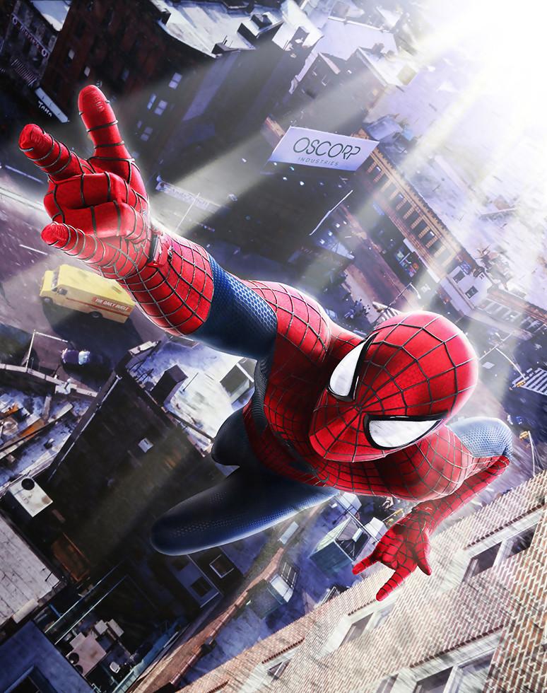 Artworks the amazing spider man 2 - Et spider man ...