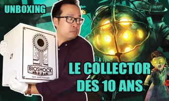 BioShock : unboxing du collector à 200$ pour les 10 ans de la série