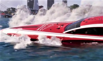 The Crew 2 : du gameplay avec le bateau Jaguar Vector