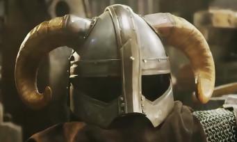 Skyrim : le casque de Dragonborn forgé à la main !