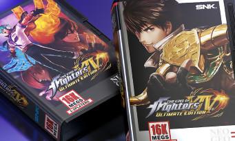 KOF XIV Ultimate Edition : 2 éditions collectors Shockbox NeoGeo chez Pix'n Love, elles sont magnifiques !
