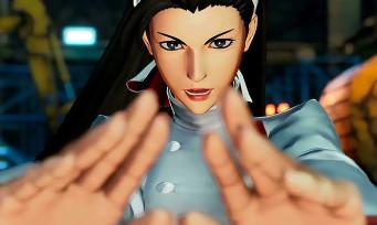 KOF 15 : trailer de gameplay Chizuru Kagura, Kyo et Iori dans la même team