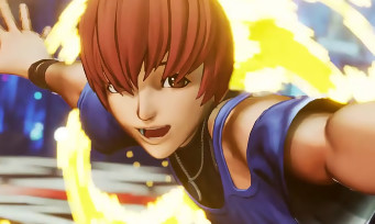 KOF XV : trailer de gameplay de Chris de la Team Orochi au complet