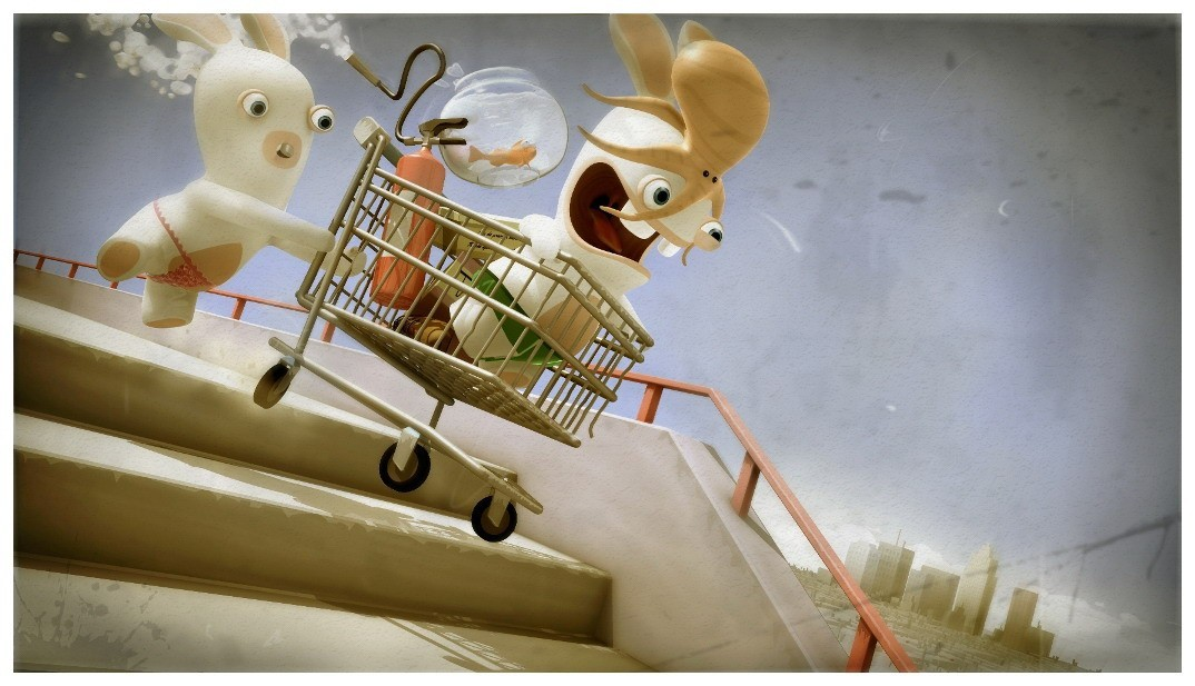Lapins cretins grosse aventure images videos - Jeux lapin cretain gratuit ...