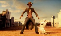 Les Lapins Crétins : Retour vers le passé - Western Trailer