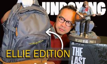 The Last of Us 2 : notre unboxing de la Ellie Edition avec le sac à dos !