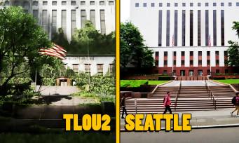 The Last of Us 2 : le jeu comparé avec la vraie ville de Seattle en vidéo