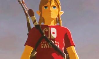 Zelda Breath of the Wild : la soluce pour avoir le t-shirt Nintendo Switch