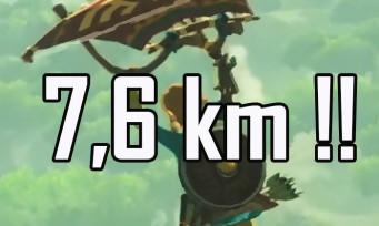 Zelda Breath of the Wild : une vidéo de dingue en paravoile