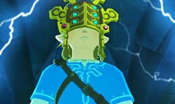 Zelda Breath of the Wild : l'astuce pour récupérer le Masque de Tonnerre