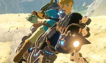 Zelda Breath of the Wild : voilà pourquoi Link pilote une moto