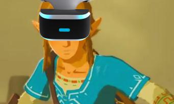 Zelda Breath of the Wild : voici comment y jouer avec le PS VR