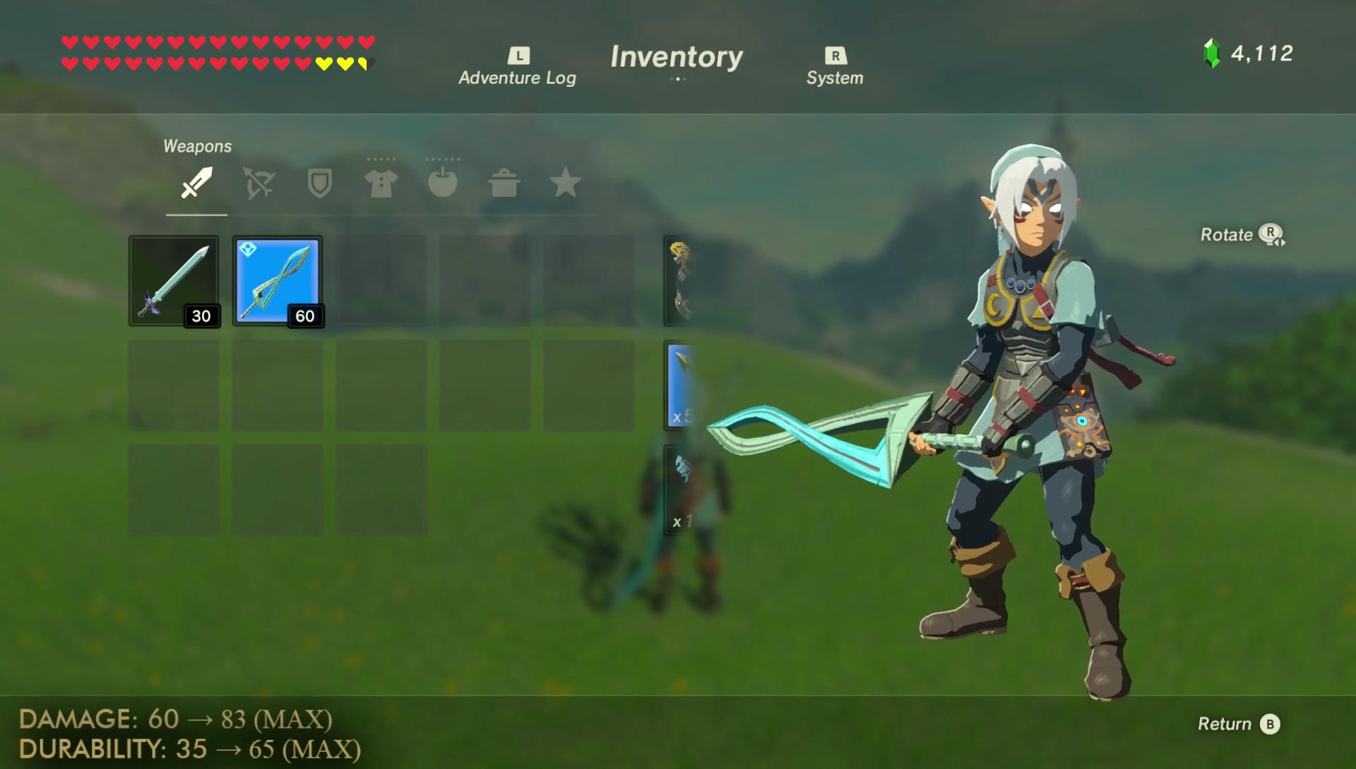 Zelda Breath Of The Wild La Soluce Pour Le Costume Du Dieu