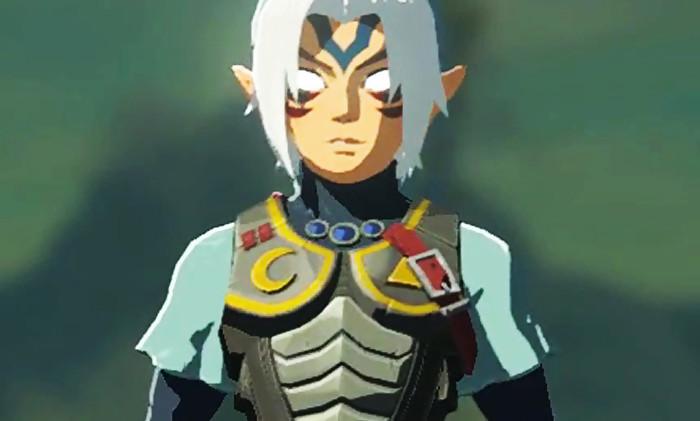 Zelda breath of the wild la soluce pour le costume du - Link dans zelda ...