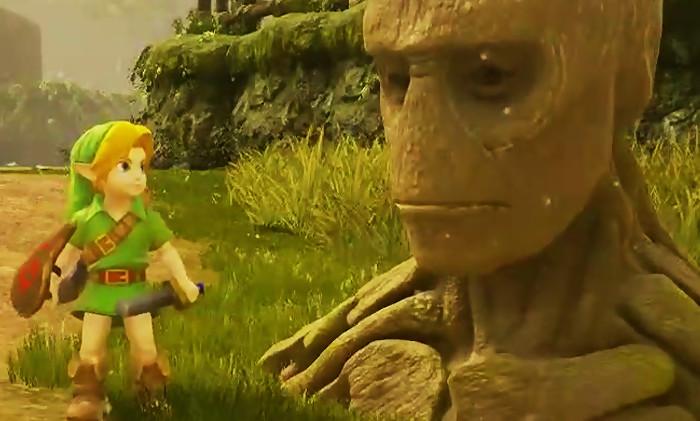 Zelda Ocarina of Time : une vidéo du jeu sur l'Unreal Engine